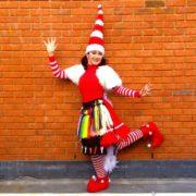 Miss Santa Balloon Modelling Performer