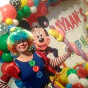 Clumsy Clown Balloon Modeller London