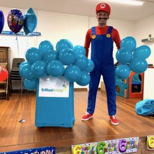 Super Mario Lookalike Party Supermario Lookalike Party