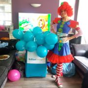 Clumsy Clown Party Fun London
