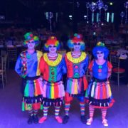 Clown Balloon Modellers x 4