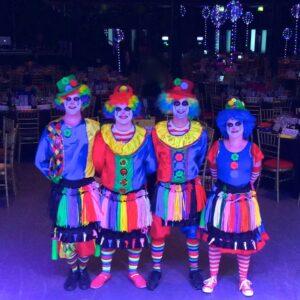 Clown Balloon Modellers x 4