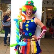 Clumsy Clown Balloon Modeller
