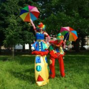 Seasoned Professional Stilt Walkers