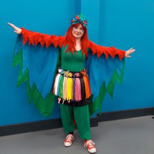 Parrot Balloon Modeller London