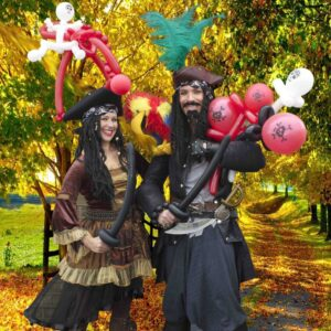 Perilous Pirate Balloon Modelling Duo