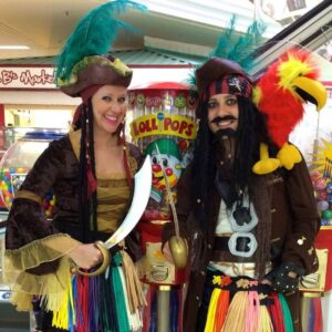 Perilous Pirate Balloon Modelling Duo London