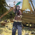 Perilous Pirate Stilt Walker London