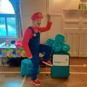 Supermario Childrens Party Host London