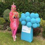 Pink Unicorn Party Host London