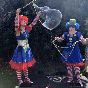 Clumsy Clown Bubble Fun