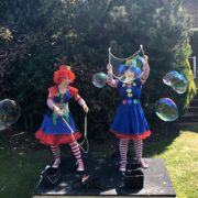 Clumsy Clown Duo Bubble Fun