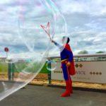 Superman Bubble Meet & Greet