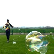 No Theme No Problem Giant Bubble Performance London