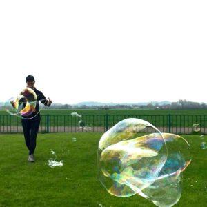 No Theme No Problem Giant Bubble Performance London