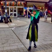 Wacky Witch Bubbleologist London