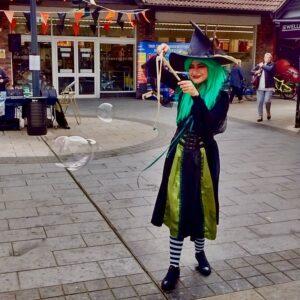 Wacky Witch Bubbleologist London