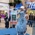 Silver Fairy Bubble Performer