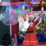 Miss Santa Bubble Performer