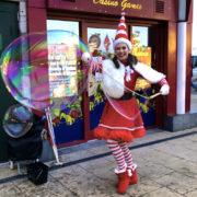 Miss Santa Bubble Meet & Greet