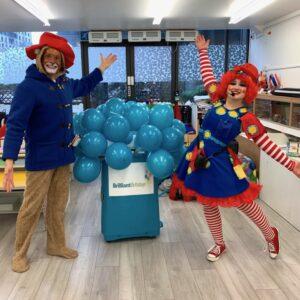 Paddington Bear & Clumsy Clown Duo Party