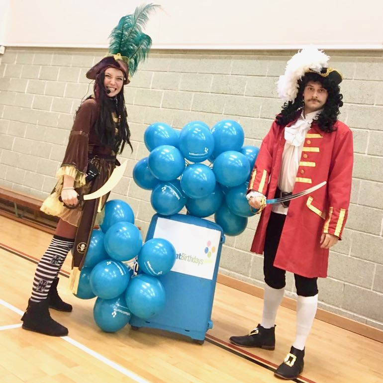 Captain Hook & Perilous Pirate Duo Party
