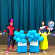 SnowWhite & Spiderman Lookalike party