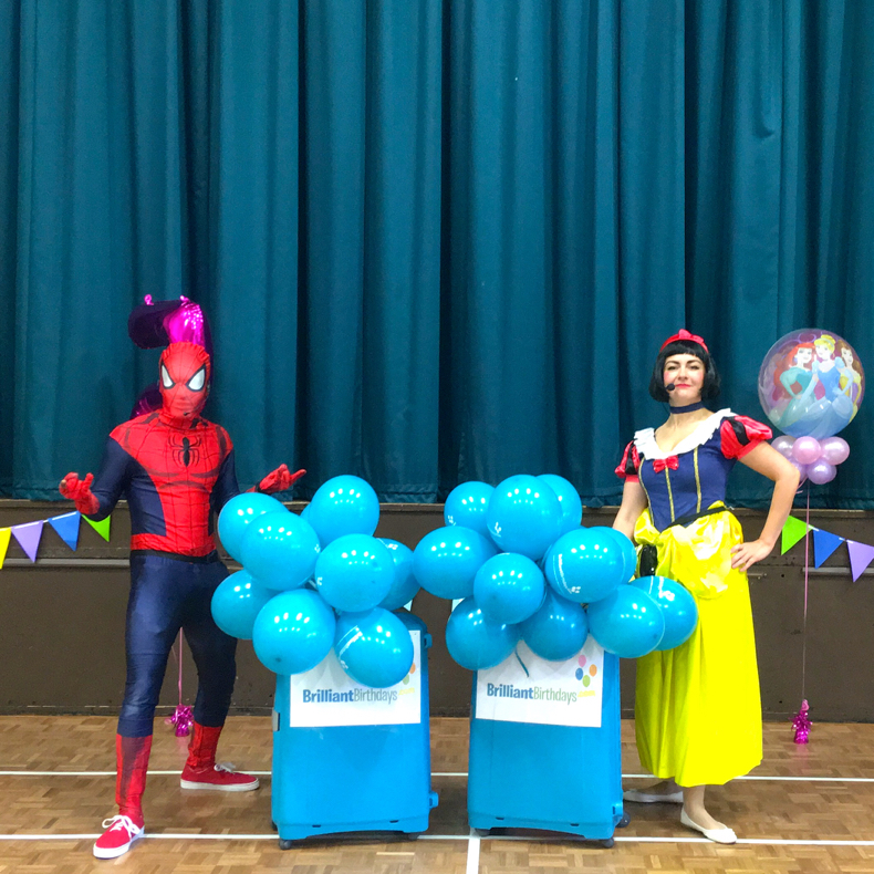 Snow White & Spiderman Lookalike Party