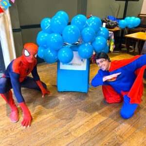 Spiderman & Superman Lookalike Party