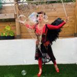 Devil Party Bubble Performer